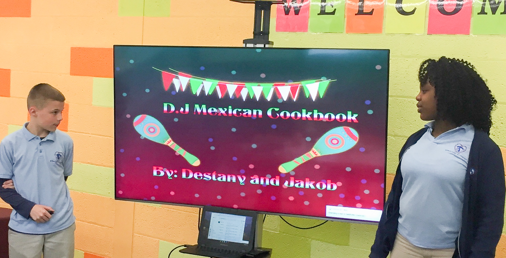Syracuse Academy of Science Middle school learn about Mexico's culture and cuisine