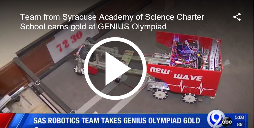 Atoms take home the gold at the 2019 Genius Olympiad competition in the field of Robotics